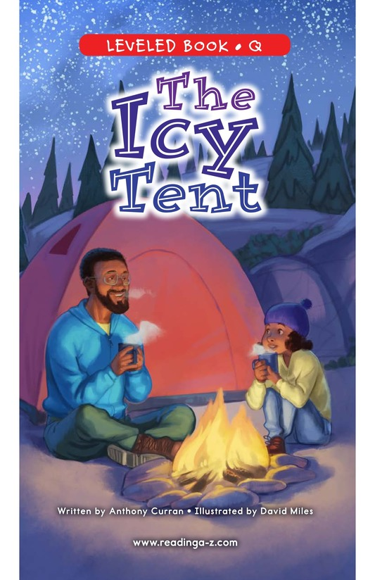 Book Preview For The Icy Tent Page 0