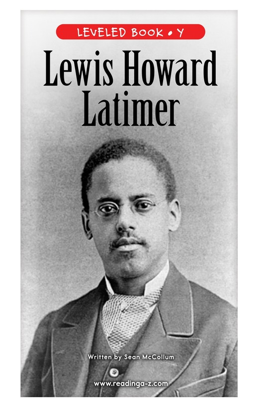 Book Preview For Lewis Howard Latimer Page 0