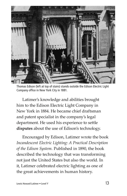 Book Preview For Lewis Howard Latimer Page 13