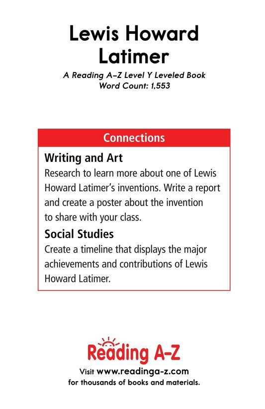 Book Preview For Lewis Howard Latimer Page 17