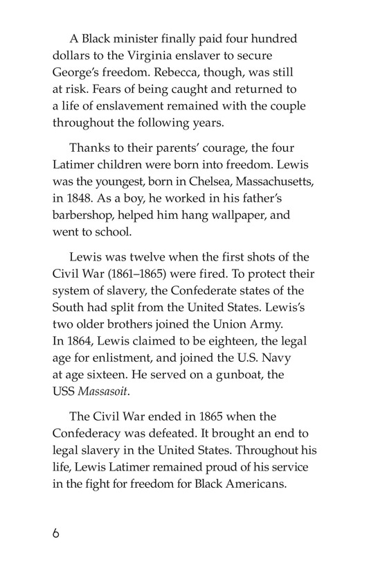 Book Preview For Lewis Howard Latimer Page 6
