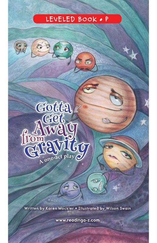 Book Preview For Gotta Get Away from Gravity Page 0