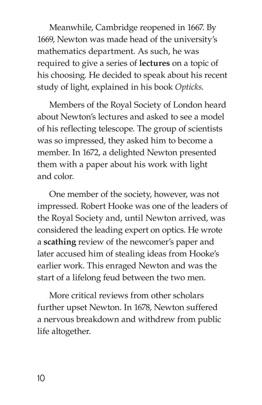 Book Preview For Isaac Newton: Matter, Math, and Motion Page 10
