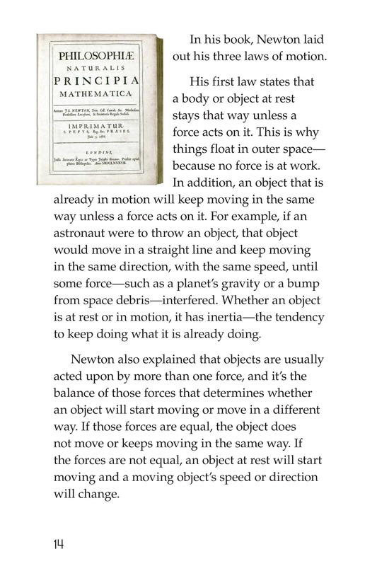 Book Preview For Isaac Newton: Matter, Math, and Motion Page 14