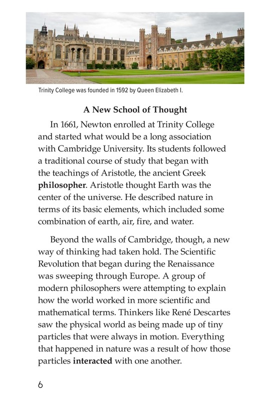 Book Preview For Isaac Newton: Matter, Math, and Motion Page 6