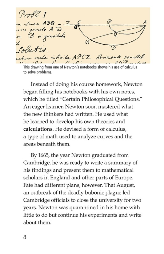 Book Preview For Isaac Newton: Matter, Math, and Motion Page 8