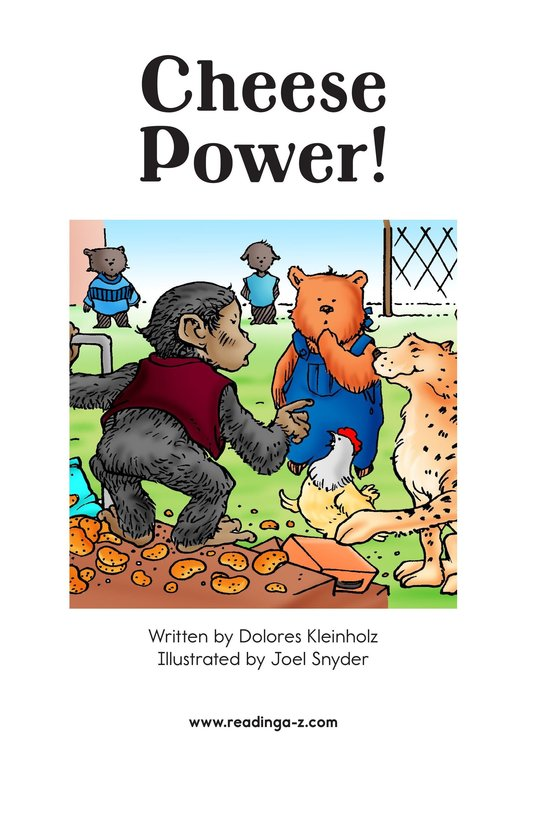 Book Preview For Cheese Power! Page 2