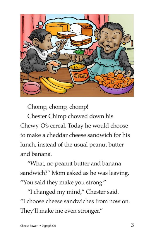 Book Preview For Cheese Power! Page 3