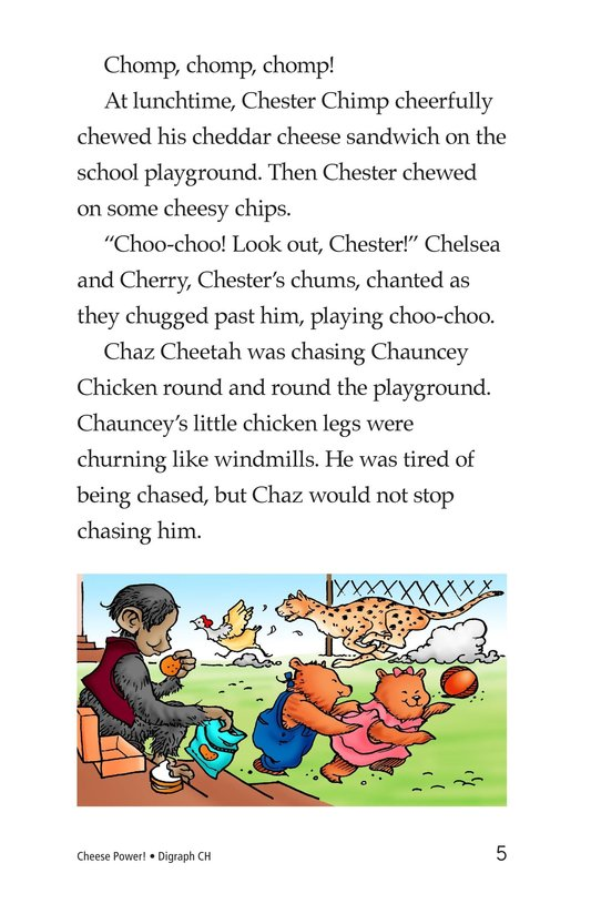 Book Preview For Cheese Power! Page 5