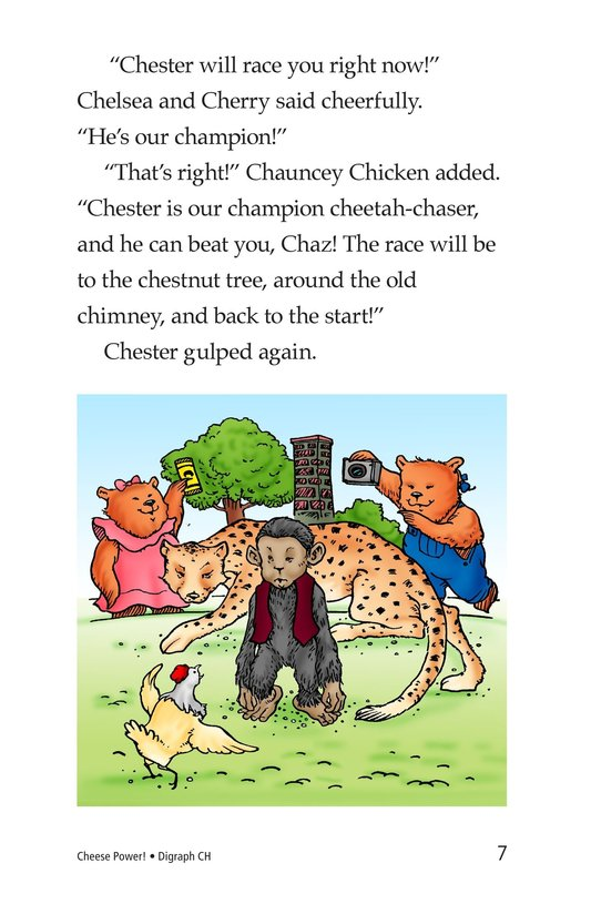 Book Preview For Cheese Power! Page 7