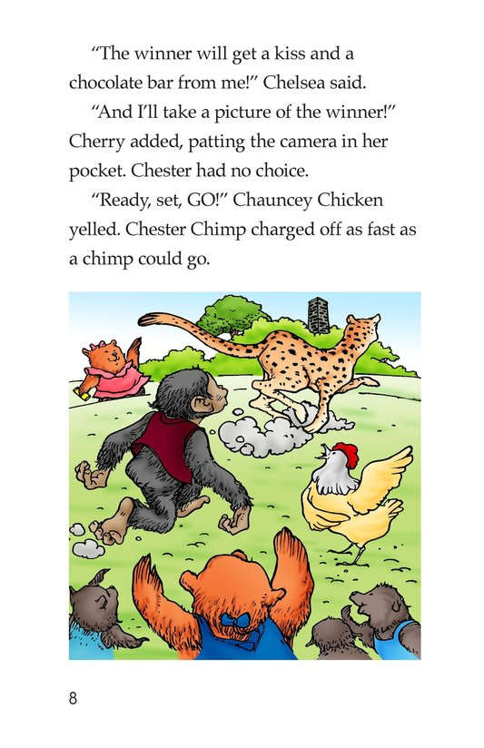 Book Preview For Cheese Power! Page 8