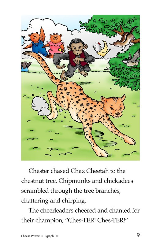 Book Preview For Cheese Power! Page 9