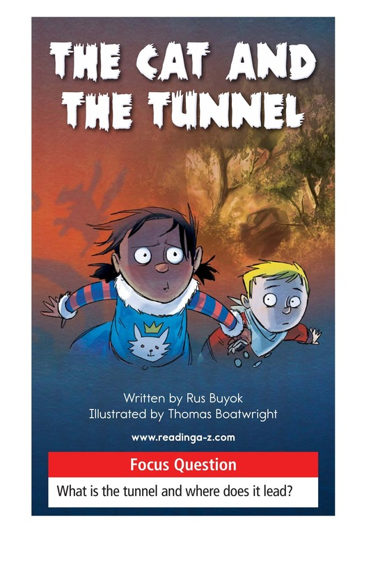 Book Preview For The Cat and the Tunnel TEST Page 1