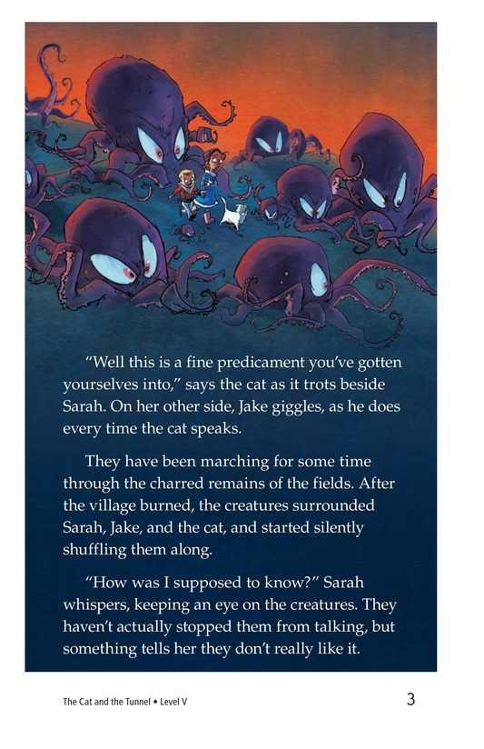 Book Preview For The Cat and the Tunnel TEST Page 3