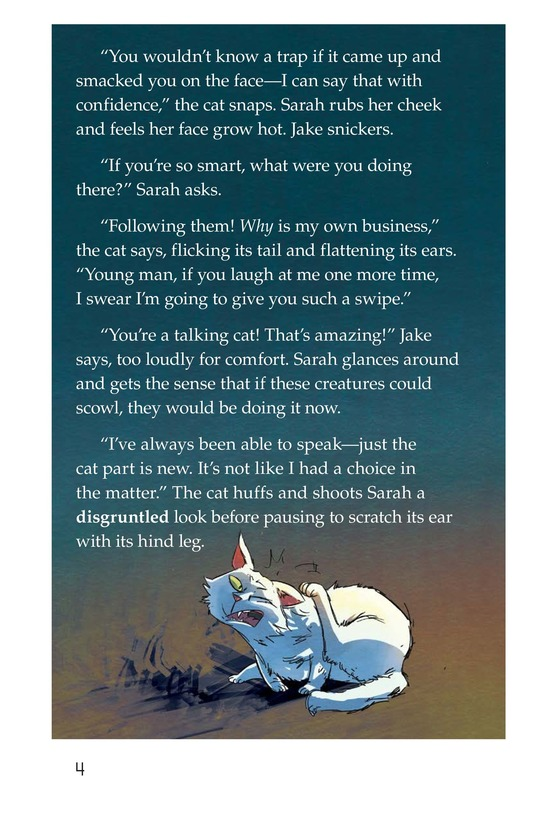 Book Preview For The Cat and the Tunnel TEST Page 4