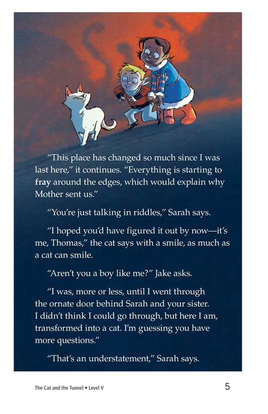 Book Preview For The Cat and the Tunnel TEST Page 5