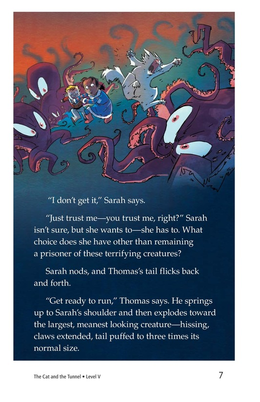 Book Preview For The Cat and the Tunnel TEST Page 7