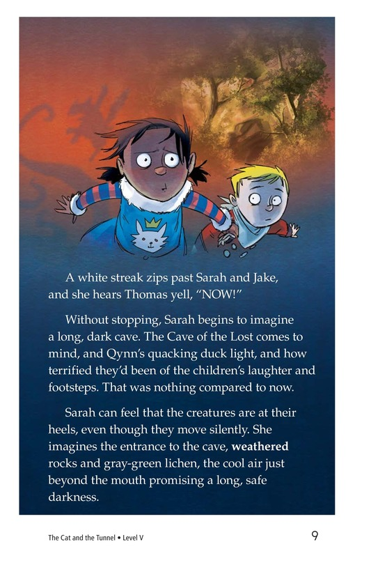 Book Preview For The Cat and the Tunnel TEST Page 9