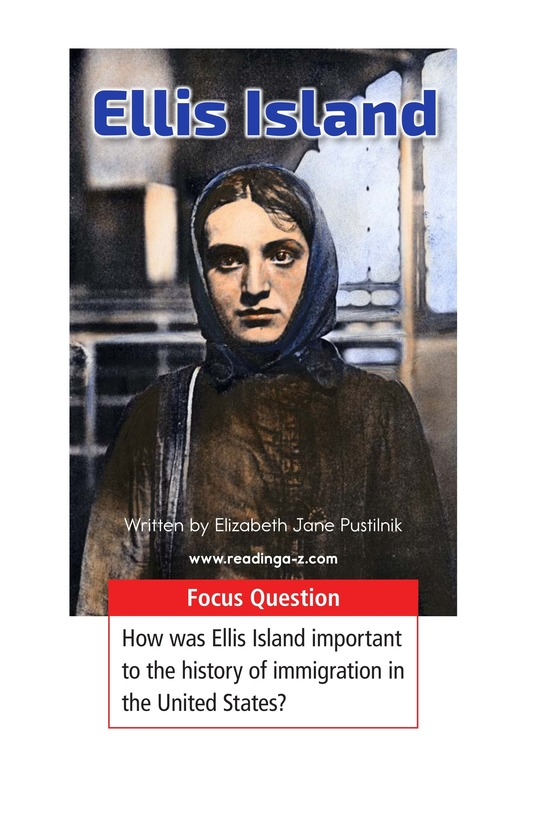 Book Preview For Ellis Island Page 1