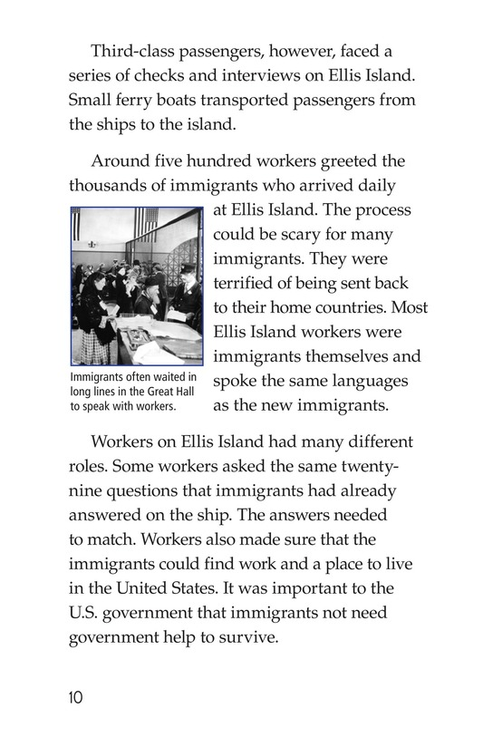 Book Preview For Ellis Island Page 10