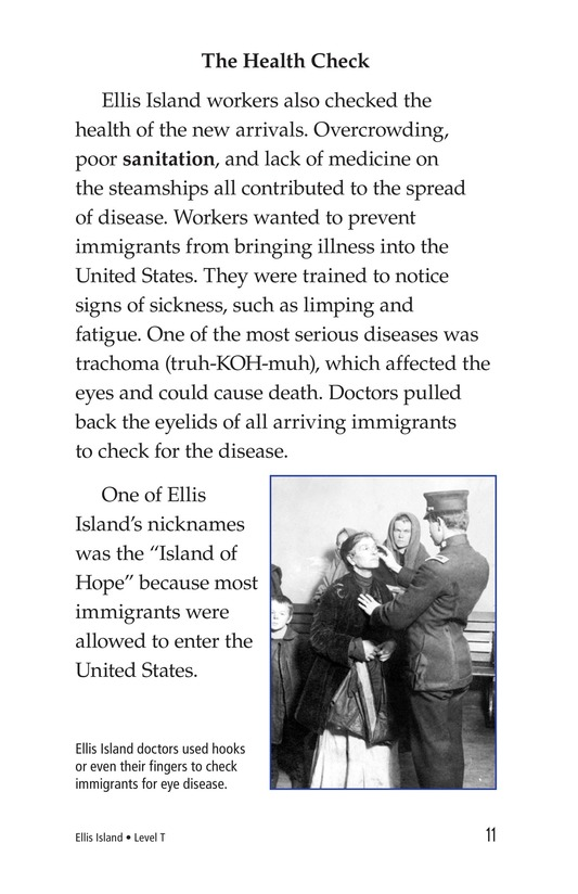 Book Preview For Ellis Island Page 11