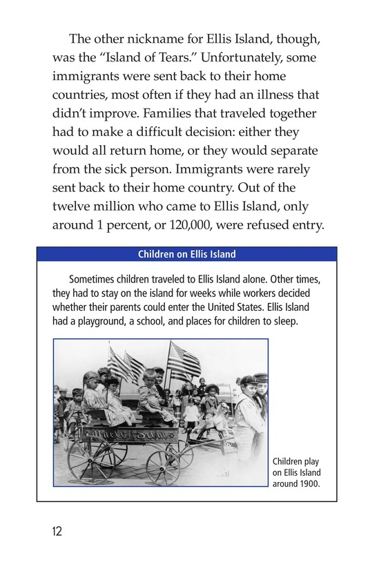 Book Preview For Ellis Island Page 12