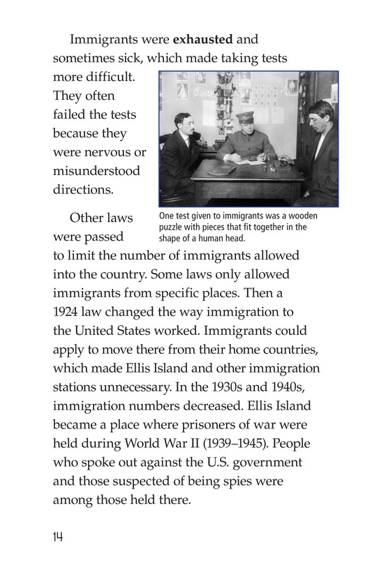 Book Preview For Ellis Island Page 14