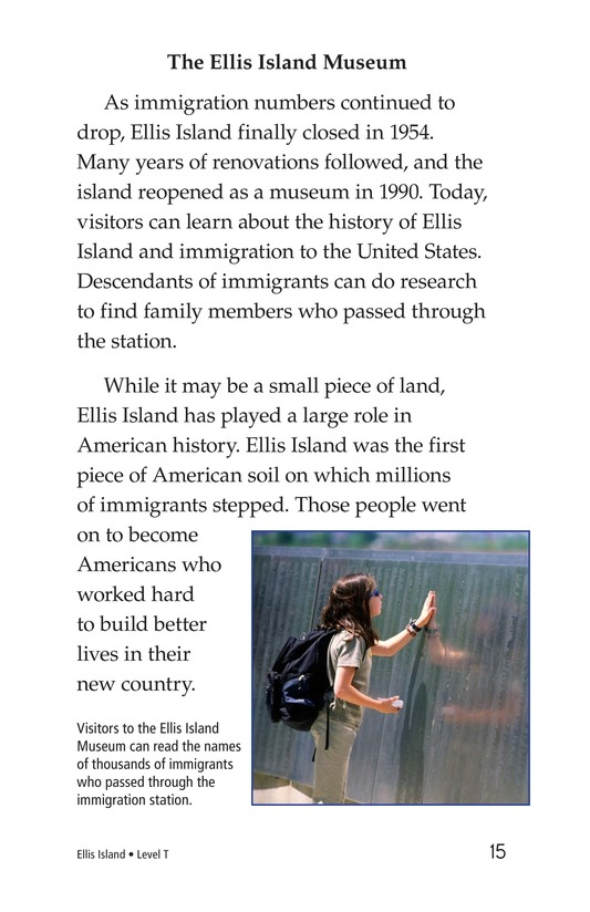 Book Preview For Ellis Island Page 15