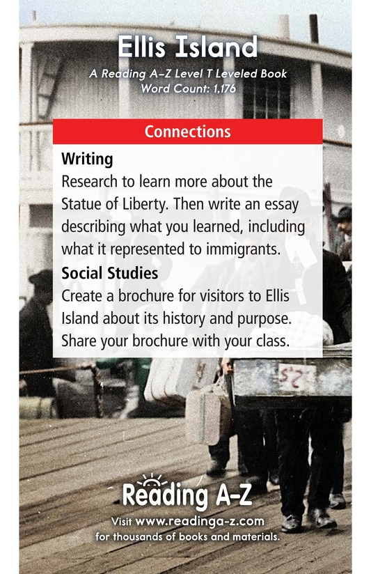 Book Preview For Ellis Island Page 17