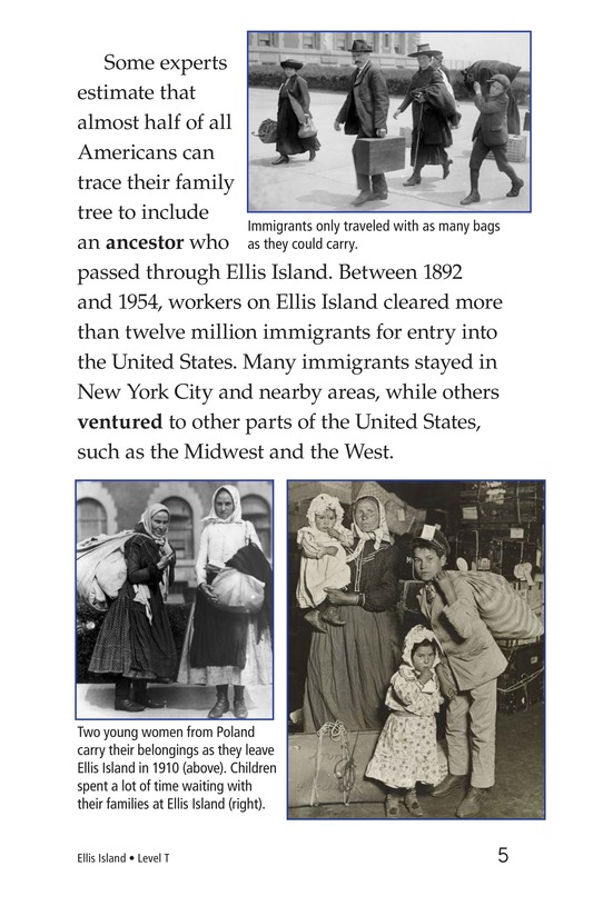 Book Preview For Ellis Island Page 5