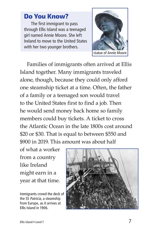 Book Preview For Ellis Island Page 7