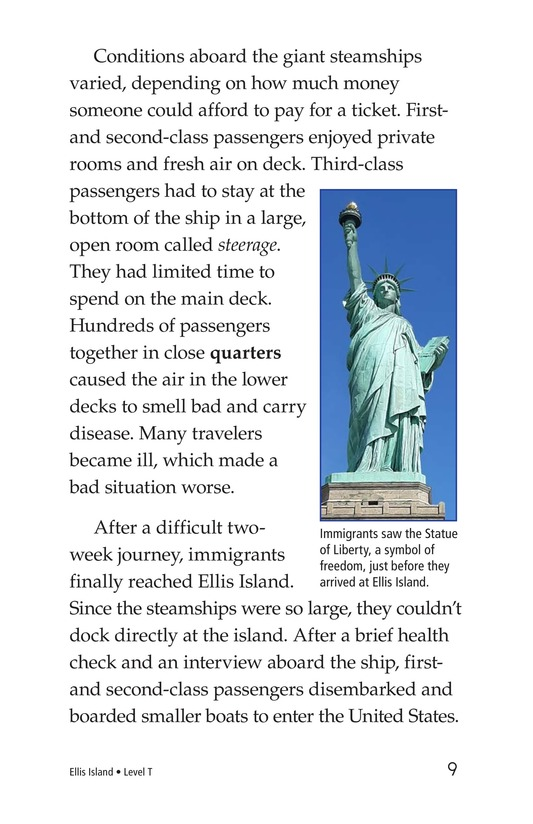 Book Preview For Ellis Island Page 9