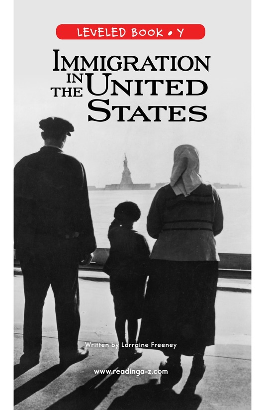 Book Preview For Immigration in the United States Page 0