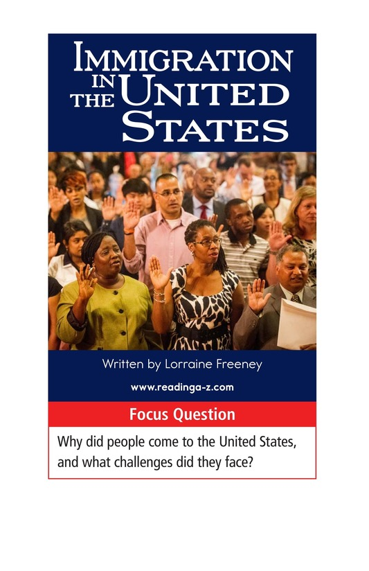 Book Preview For Immigration in the United States Page 1