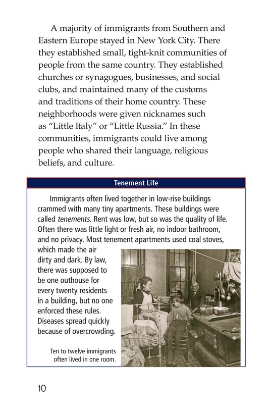 Book Preview For Immigration in the United States Page 10