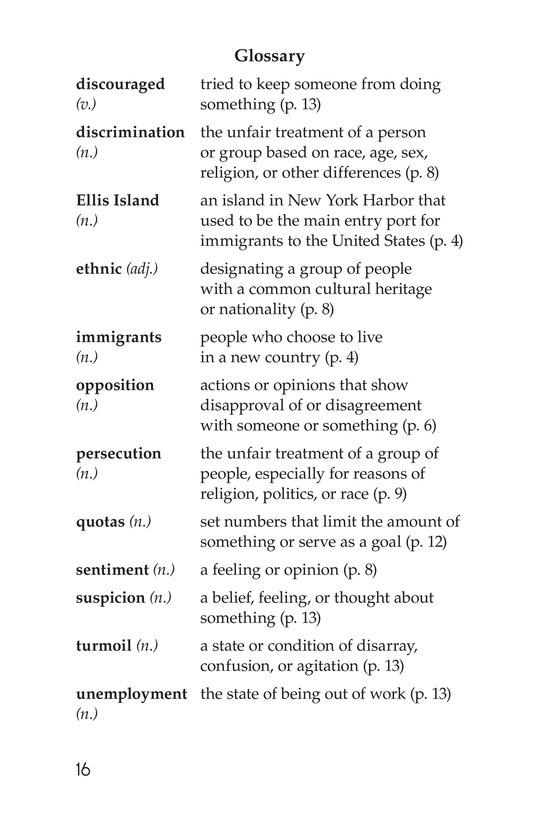 Book Preview For Immigration in the United States Page 16