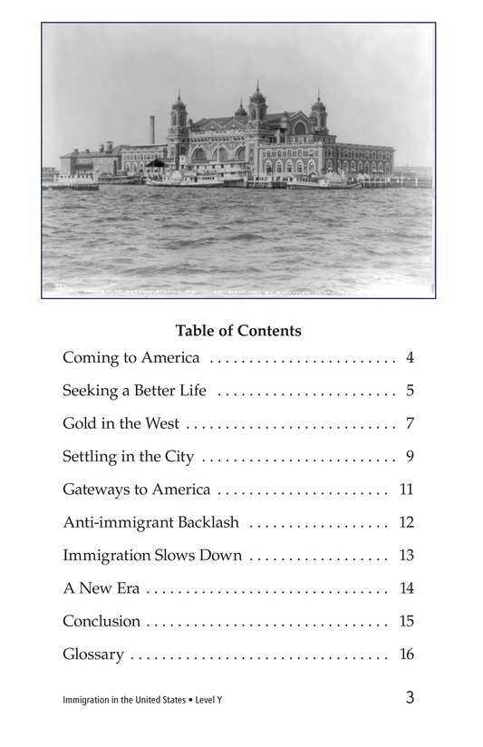 Book Preview For Immigration in the United States Page 3