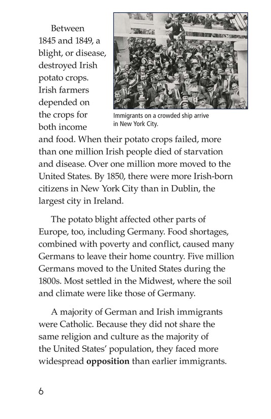 Book Preview For Immigration in the United States Page 6