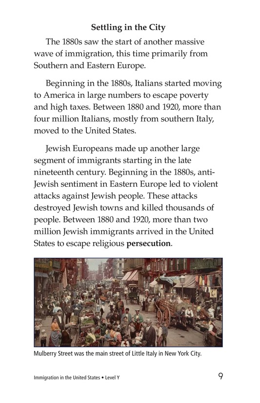 Book Preview For Immigration in the United States Page 9