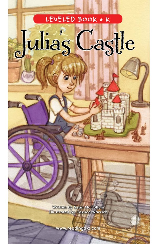 Book Preview For Julia's Castle Page 0