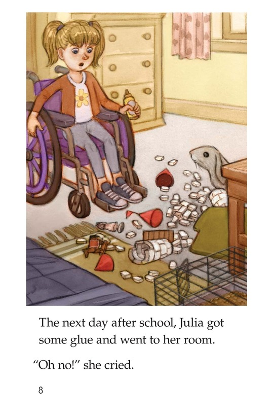 Book Preview For Julia's Castle Page 8