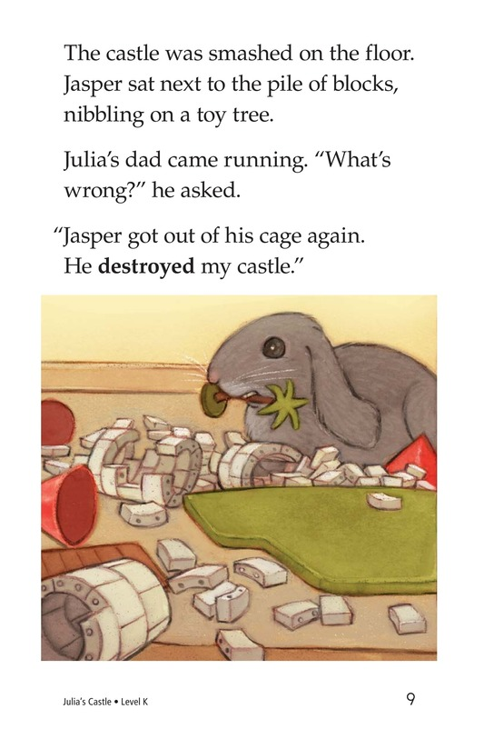 Book Preview For Julia's Castle Page 9