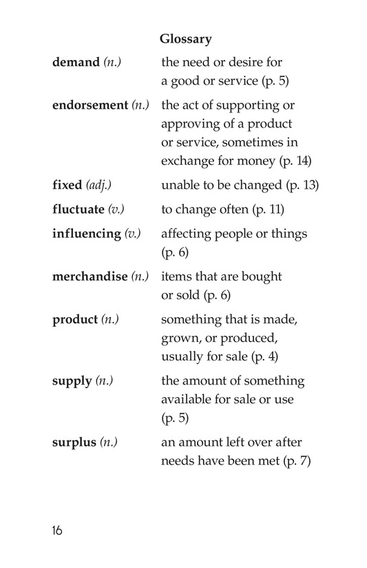 Book Preview For Supply and Demand Page 16