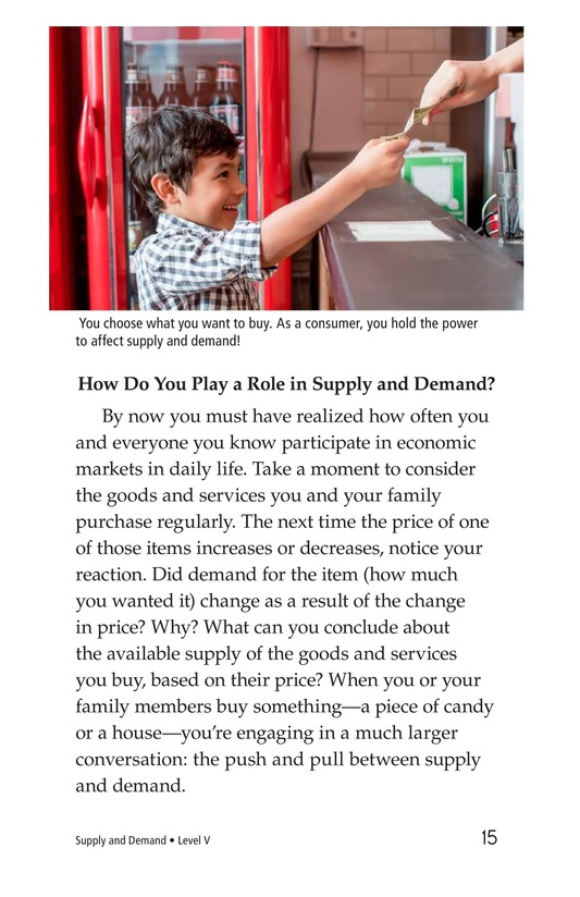 Book Preview For Supply and Demand Page 15