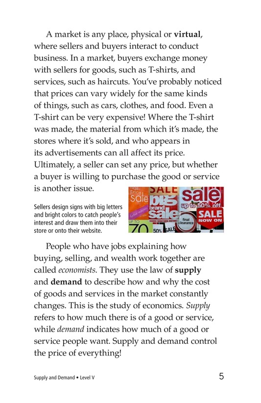 Book Preview For Supply and Demand Page 5
