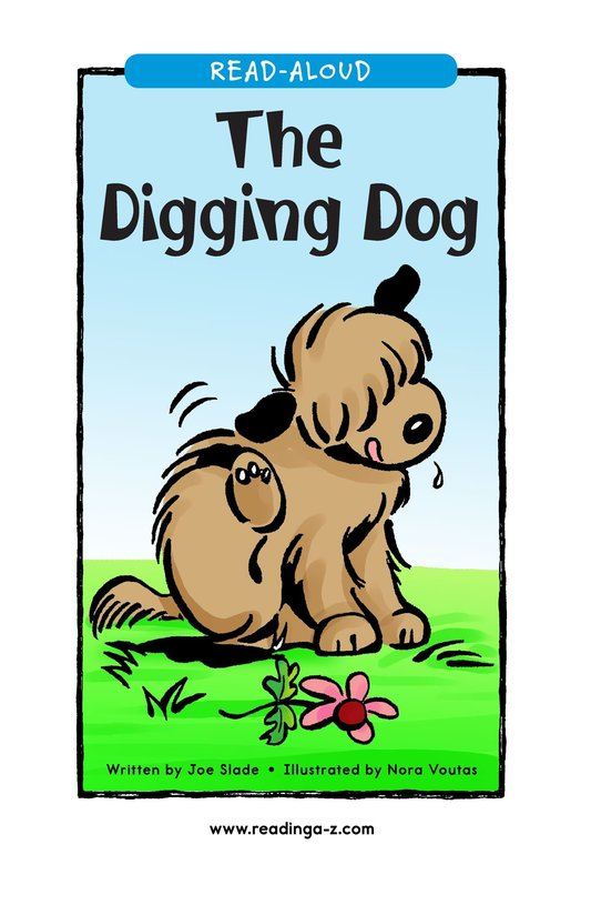 Book Preview For The Digging Dog Page 1
