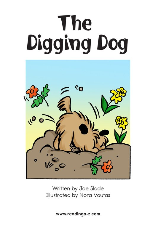 Book Preview For The Digging Dog Page 2