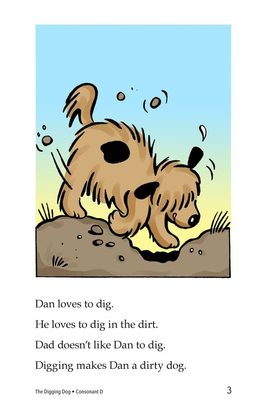 Book Preview For The Digging Dog Page 3
