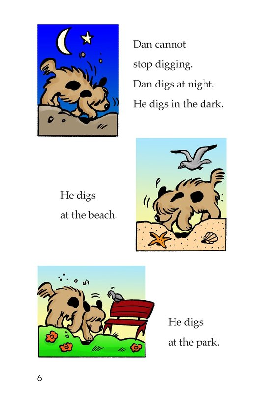 Book Preview For The Digging Dog Page 6