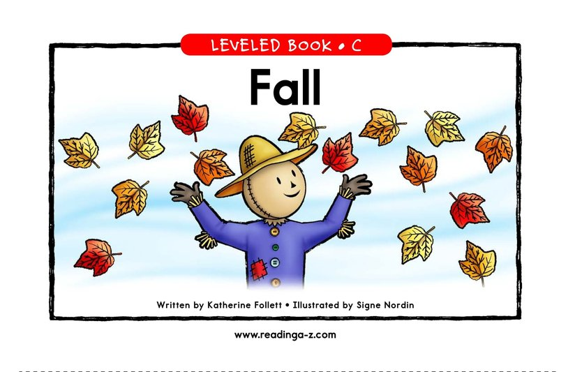 Book Preview For Fall Page 1